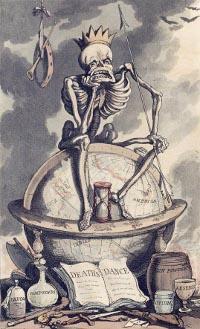 Mensch und Tod