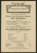Dichter- und Tondichter-Matinée: Das Melodrama