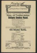 Dichter- und Tondichter-Matinée: Wolfgang Amadeus Mozart