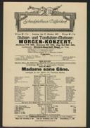 Dichter- und Tondichter-Matinée: Morgen-Konzert