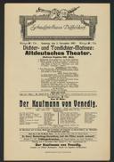 Dichter- und Tondichter-Matinée: Altdeutsches Theater