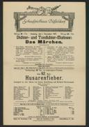 Dichter- und Tondichter-Matinée: Das Märchen