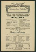 Dichter- und Tondichter-Matinée: Westfalen