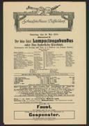 Der böse Geist Lumpacivagabundus oder: Das liederliche Kleeblatt