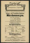 Dichter- und Tondichter-Matinee: Märchenmorgen
