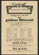 Die goldene Ritterzeit