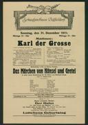 Matinee: Karl der Grosse