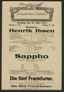 Matinee: Henrik Ibsen