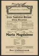 Erste Tondichter-Matinee: Otto Nicolai