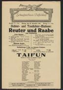 Dichter- und Tondichter-Matinee: Reuter und Raabe zum Gedächtnis