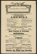 Matinee: Amerika