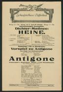 Dichter-Matinee: Heine