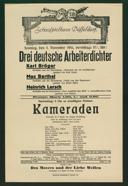 Drei deutsche Arbeiterdichter