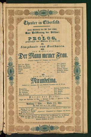 Theater in Elberfeld