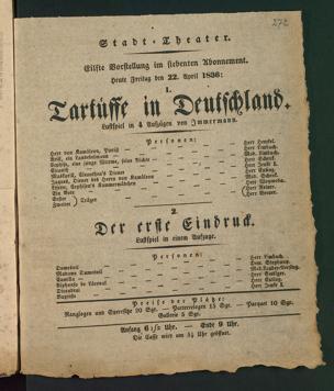 Tartüffe in Deutschland